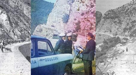 FOTO/ 'Dje dhe Sot'… Kur ndërtohej rruga Elbasan-Librazhd dhe si ka ndryshuar ndër vite