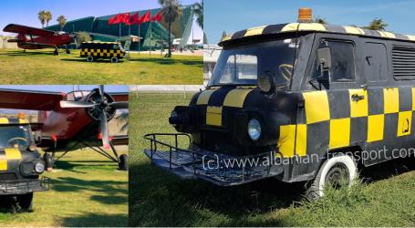 FOTO/ Makina e 'çuditshme' që ndihmon avionët të ngrihen në fluturim. Një e tillë ishte edhe në Rinas