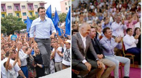 Zyrtarisht nis sot fushata zgjedhore/ Rama dhe Basha mitingje në Tiranë