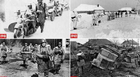 FOTO/ 'Katër dimra në ferr'! Publikohen pamjet e rralla të operacionit 'Barbarossa', ushtarët nuk e imagjinonin dot se çfarë i priste