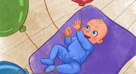 Keni fëmijë 1-5 muajsh? Pse duhet t'i lidhni në këmbë e duar tullumbace, cilat janë të mirat