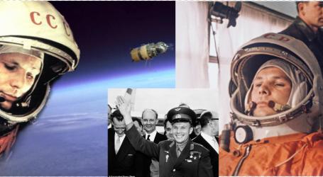 FOTO/ Sot, 60 vjet nga fluturimi i Juri Gagarinit, njeriu që e pa i pari Tokën nga hapësira