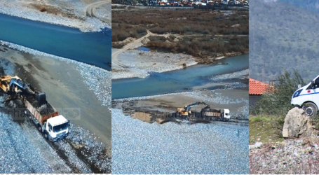 Investigimi në 'Fiks Fare'/ Subjekti privat gërryen lumin dhe merr inerte pa leje, IKMT dhe policia veprojnë pas sinjalizimit