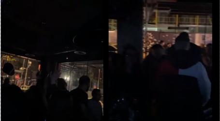 VIDEO e 'Priza.al'/ 'Ora policore' nuk 'pi më ujë'… lokalet e natës në Tiranë mbushur plot me të rinj që argëtohen edhe pas orës 22:00