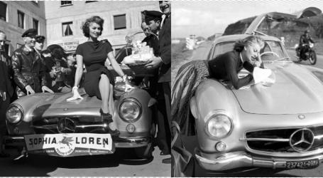 FOTO/ Kur DIV-a Sophia Loren i bënte reklamë supermakinës së Mercedes