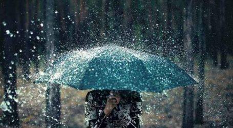 'Çmenden' plakat e prillit, reshjet e shiut s'kanë të ndalur