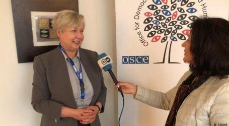 Zgjedhjet e 25 prillit/Ambasadorja Urszula Gacek: Vëmendje e madhe ndaj çdo ankimi apo rinumërimi votash