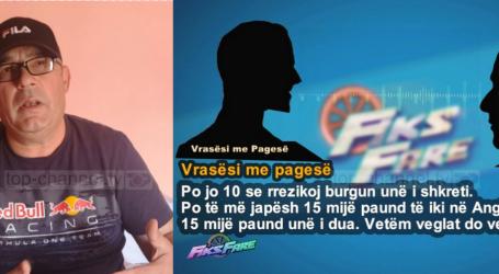 Tronditëse në 'Fiks Fare'/ Si u paguan vrasësit profesionistë me 15 mijë euro për 'kokën' e qytetarit nga Orikumi. Policia nuk kap autorët