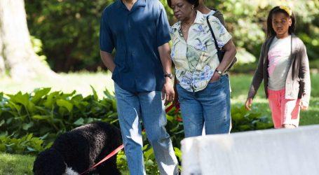 Ditë zie për Obama-t, ndërron jetë pjesëtari më i dashur i familjes…