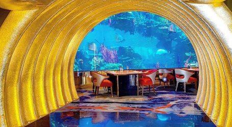 FOTO/ Luks i shfrenuar në hotelin gjigand në Dubai, aty ku çdokush 'shkel' mbi ar