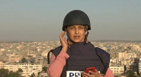 VIDEO/ Gazetarja po raportonte LIVE nga Gaza, kur fillon sulmi ajror izraelit