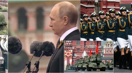 FOTO+VIDEO/ Parada madhështore në 'Sheshin e Kuq'. Ja si e festoi Rusia 76-vjetorin e fitores ndaj Gjermanisë Naziste