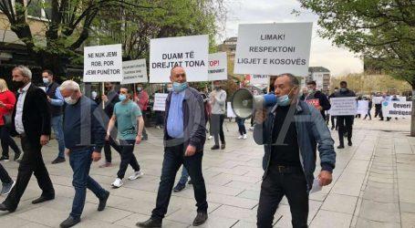 Protesta në Kosovë për 1 Maj, kërkohet rritje e pagave për punëtorët e sektorit privat