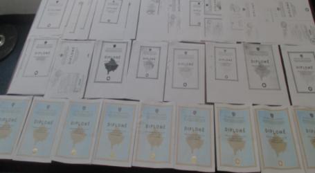 Pranga 60-vjeçarit, prodhoi dhe shiti diploma të falsifikuara